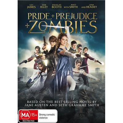 Pride and Prejudice and Zombies on DVD image