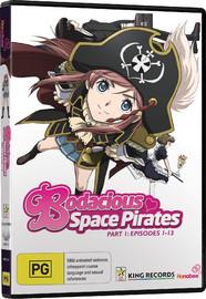 Bodacious Space Pirates - Season One (2 Disc Set) on DVD