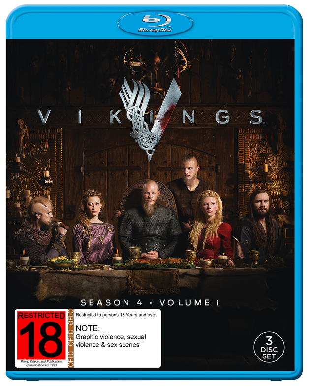 Vikings: Season 4 - Volume 1 on Blu-ray