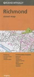 Folded Map Richmond Va Street by Rand McNally