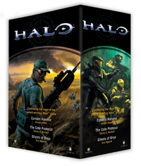 Halo: Boxed Set (3 books) by Eric Nyland image