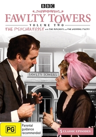 Fawlty Towers - Vol. 2: The Psychiatrist on DVD image
