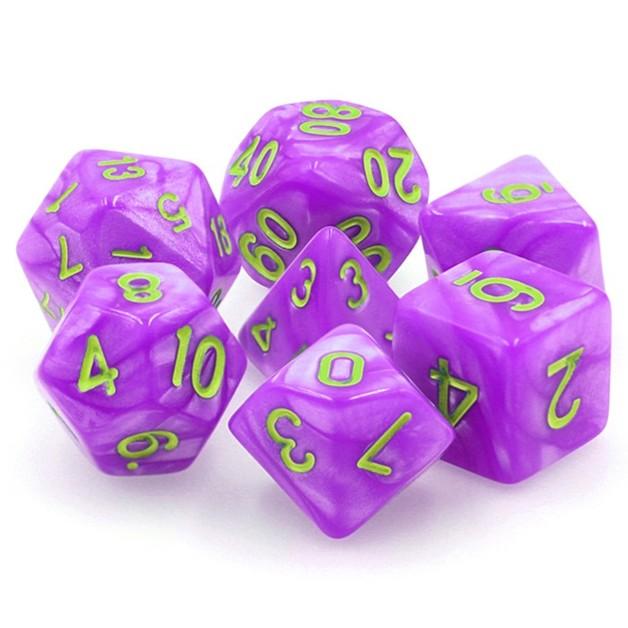 Mana Misasma Polyhedral Dice Set