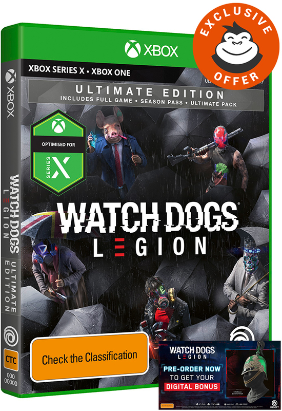 Watch Dogs Legion Ultimate Edition for Xbox One