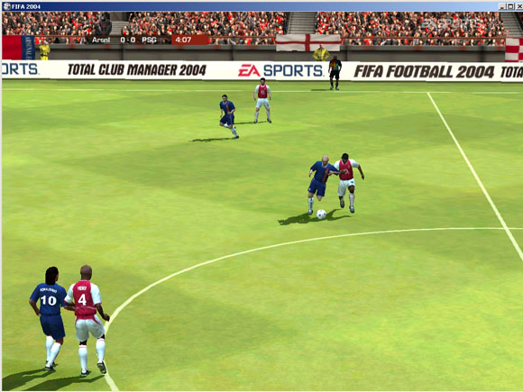 FIFA 2004 screenshot