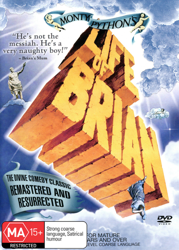 Monty Python's Life Of Brian on DVD