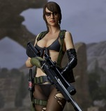 Metal Gear Solid V The Phantom Pain: Quiet 1/6 Statue