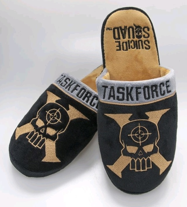 Suicide Squad - Taskforce X Slippers (UK 8-10)