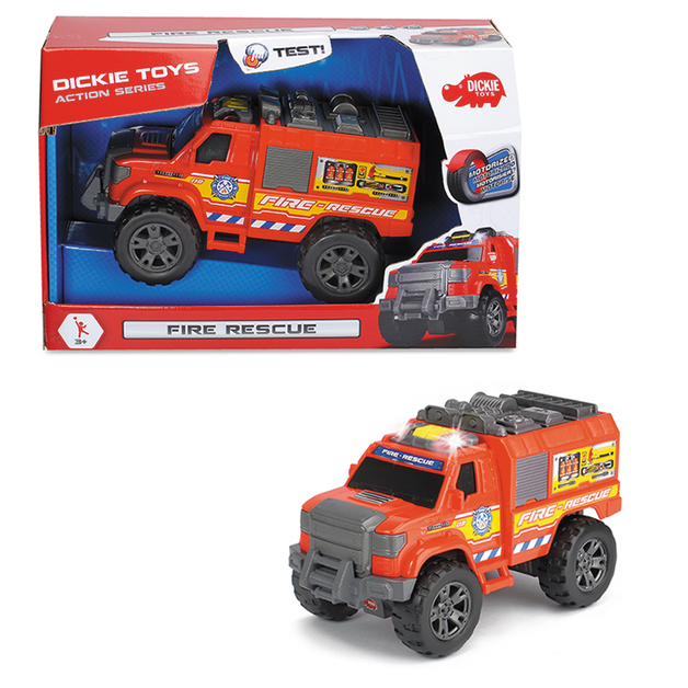 Dickie Toys: Fire Rescue - Motorised Vehicle
