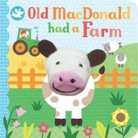 Little Me Old MacDonald Had a Farm Finger Puppet Book by Parragon Editors image