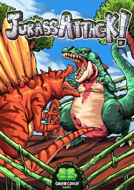 JurassAttack - Board Game