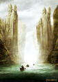 Lord of the Rings: Pillars of The Kings - Limited Edition Print