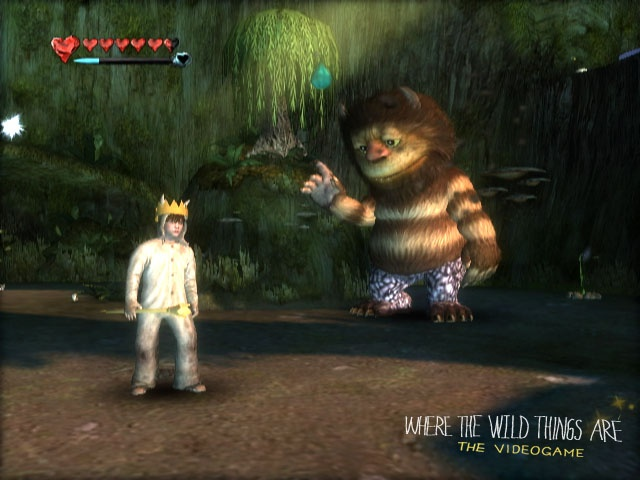 Where the Wild Things Are for Nintendo Wii image