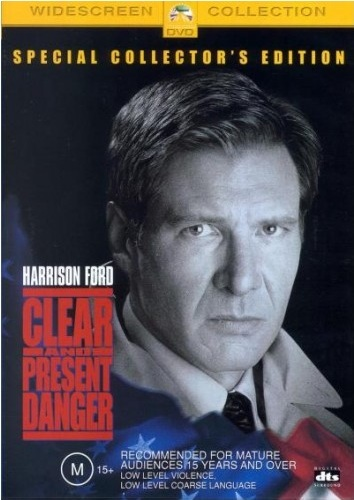 Clear & Present Danger - Special Edition on DVD image