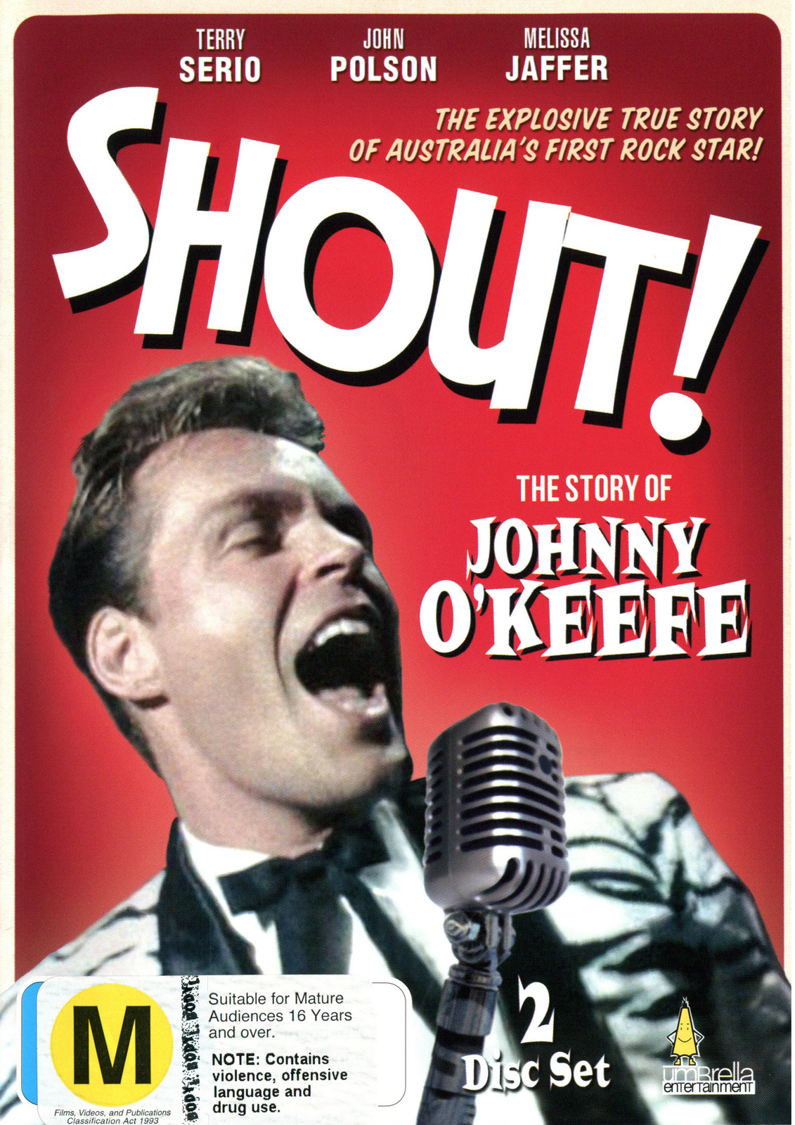 Shout! - The Story Of Johnny O'keefe on DVD image