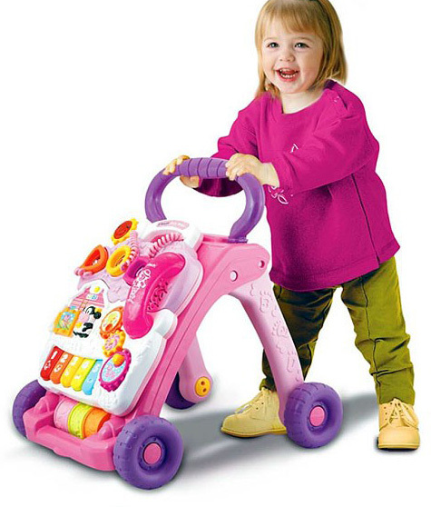 VTech: First Steps Baby Walker - Pink image