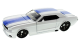 Jada Big Time Muscle 1:24 Diecast Model - 1965 Ford Mustang (White)