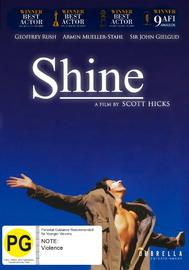 Shine on DVD