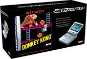 Game Boy Advance SP Platinum + NES Classic: Donkey Kong for Game Boy Advance