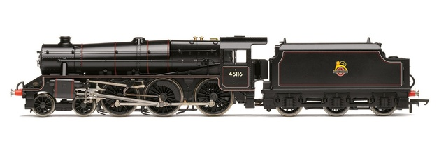 Hornby: BR 4-6-0 '45116' 'Black 5' Class 5MT with TTS Sound