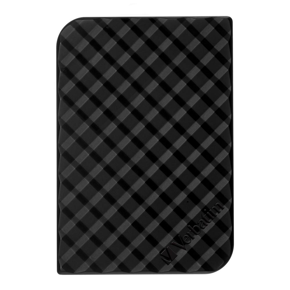 """Verbatim 2.5"""" Store'n'Go USB 3.0 - 500GB (Black Grid Design) image"""