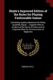 Hoyle's Improved Edition of the Rules for Playing Fashionable Games by Edmond Hoyle image