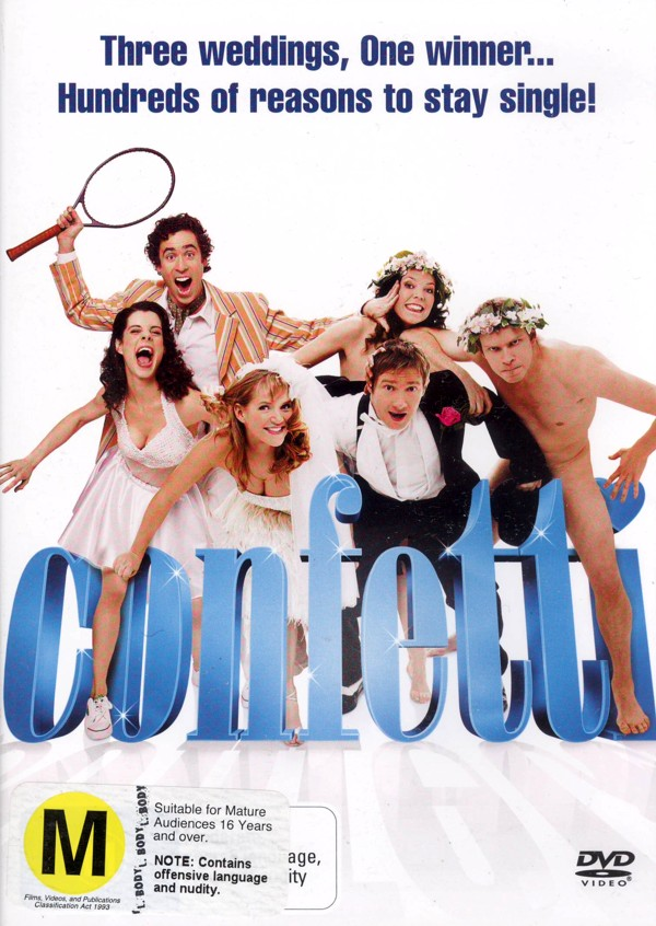 Confetti on DVD image