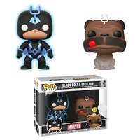 Inhumans - Black Bolt & Lockjaw (Glow/Phasing) Pop! Vinyl 2-Pack image