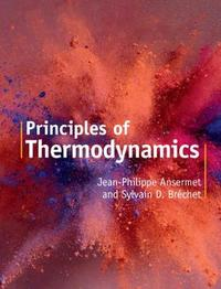 Principles of Thermodynamics ` by Jean-Philippe Ansermet