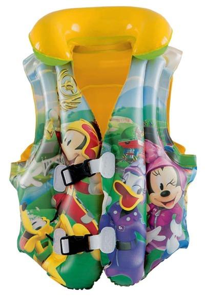 Bestway: Mickey's Roadster Racers - Swim Vest (Ages 3-6)