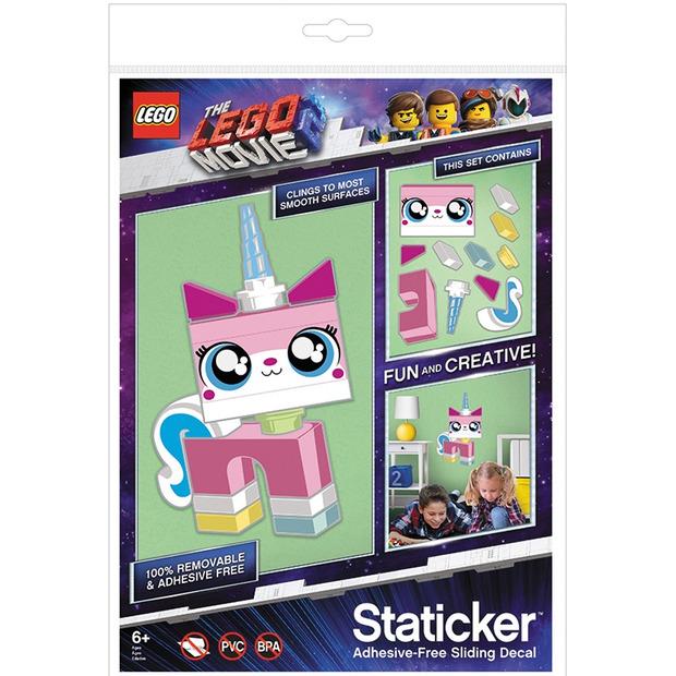 LEGO Movie 2: Wall Sticker - Unikitty