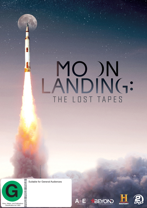 Moon Landing: The Lost Tapes on DVD