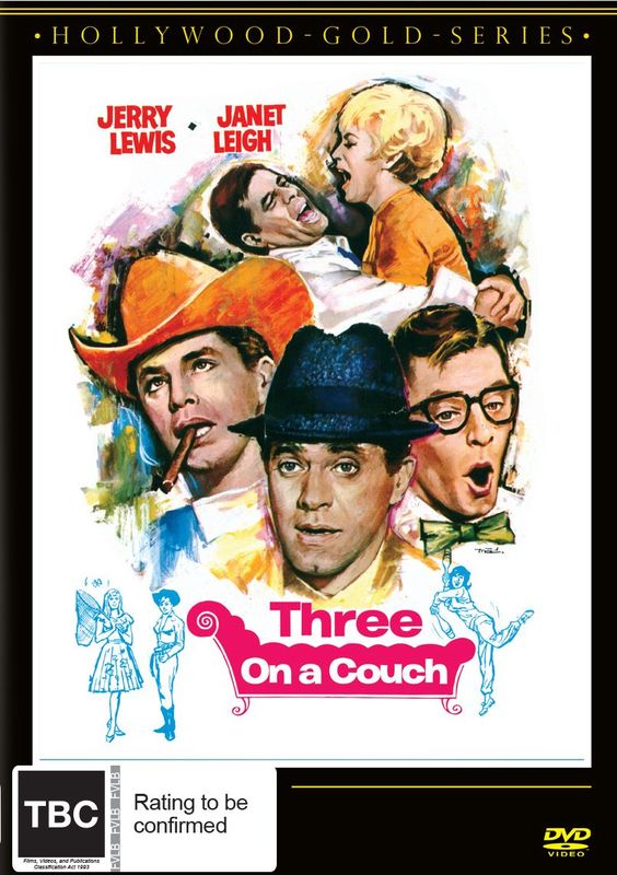 Three On A Couch on DVD