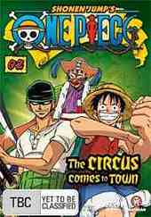 One Piece - Vol. 2: The Circus Comes To Town on DVD