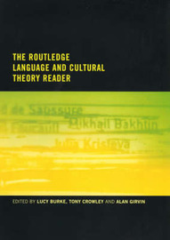 The Routledge Language and Cultural Theory Reader image