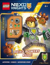 Nexo Powers Rule! (Lego Nexo Knights: Activity Book with Minifigure) by Scholastic Inc