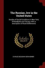 The Russian Jew in the United States by Charles Seligman Bernheimer image