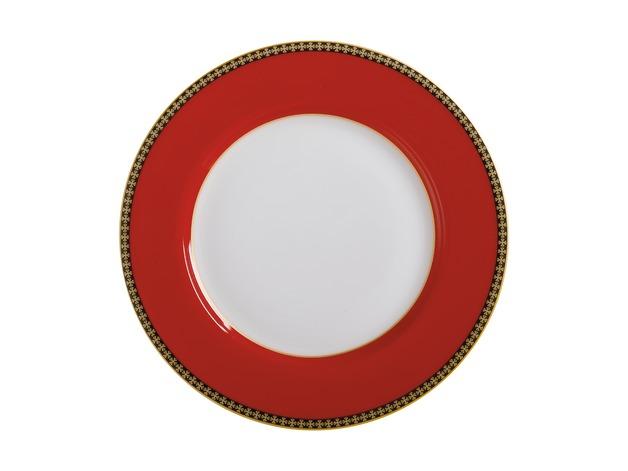 Maxwell & Williams: Teas & C's Contessa Classic Rim Plate - Red