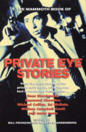 The Mammoth Book of Private Eye Stories image