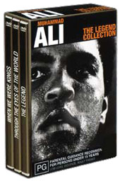 Muhammad Ali - The Legend Collection (3 Disc Set) on DVD