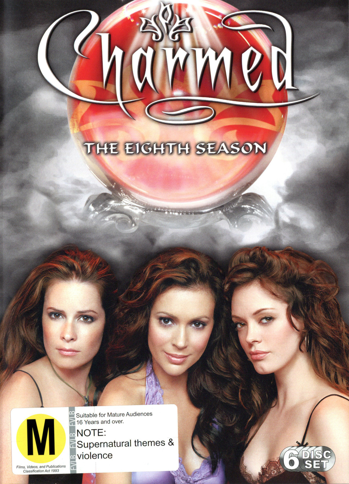 Charmed - Complete 8th Season (6 Disc Set) on DVD image