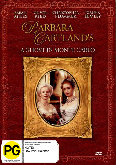 Barbara Cartland's a Ghost in Monte Carlo on DVD