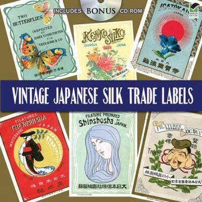 Vintage Japanese Silk Trade Labels by Dover Publications Inc