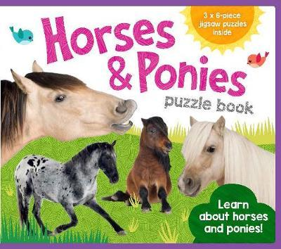 EVA Jigsaw Book Horses and Ponies