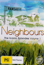 Neighbours - The Iconic Episodes: Vol. 1 (3 Disc Set) on DVD