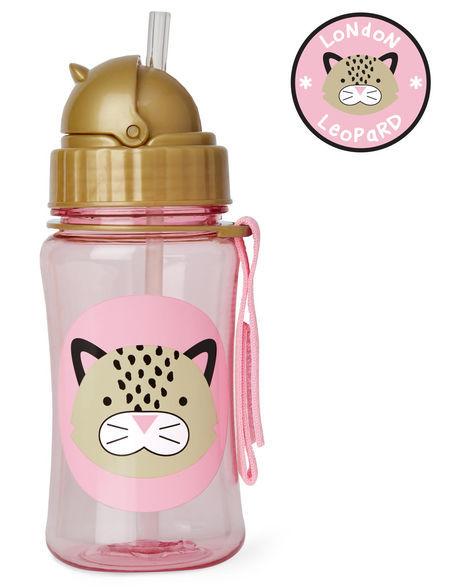 Skip Hop: Zoo Straw Bottle - Leopard image