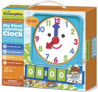 4M: Thinking Kits Tell Time Learning Clock