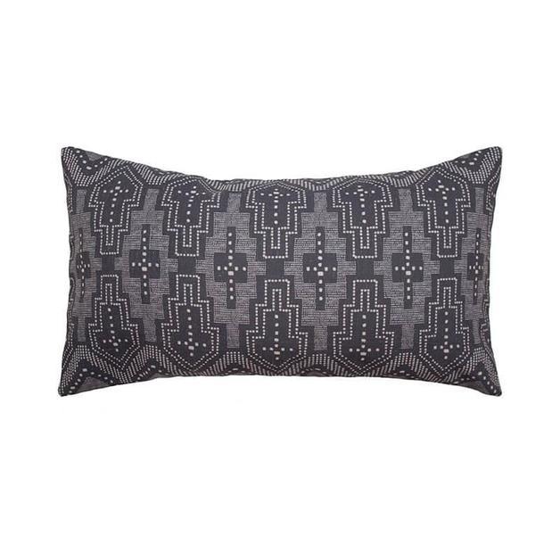 Domingo Cushion - Charcoal
