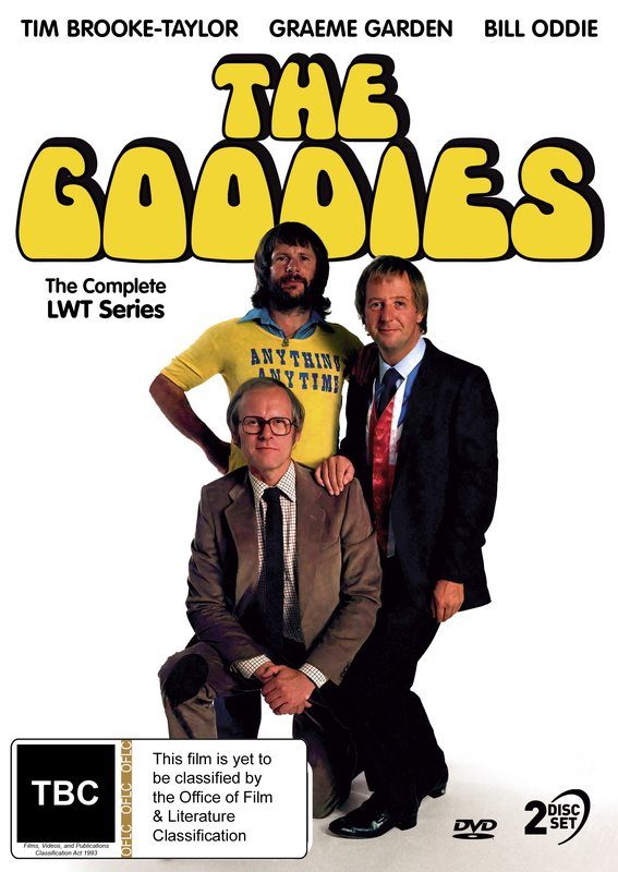 The Goodies - The Final Series on DVD