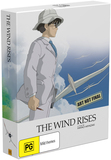 The Wind Rises - Limited Edition on DVD, Blu-ray